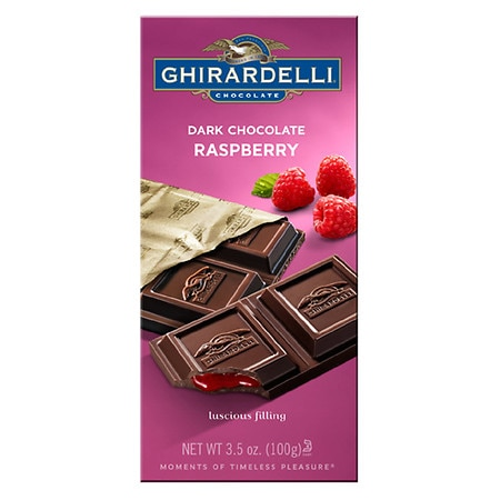 Ghirardelli Chocolate Bar Dark & Raspberry