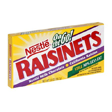 Nestle On The Go! Raisinets