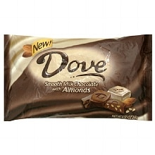 Dove Promises Silky Smooth Chocolates Milk Chocolate Almond