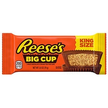 Reese's King Size Big Cup Milk Chocolate Peanut Butter Cups