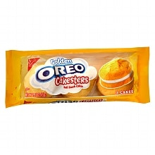 Nabisco Oreo Golden Cakesters Soft Snack Cakes