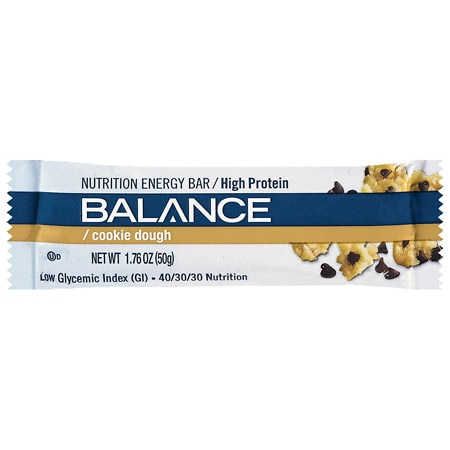 Balance Bar Nutrition Bar Cookie Dough