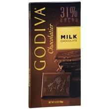 Godiva 31% Cacao Candy Bar Milk Chocolate