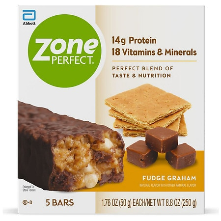 ZonePerfect Classic All-Natural Nutrition Bar Fudge Graham