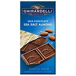 Ghirardelli Gourmet Milk Chocolate Bar Sea Salt Escape