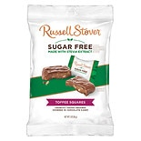 Russell Stover Sugar Free Chocolates Toffee Squares