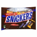 Snickers Fun Size Candy Bars Assorted Flavors