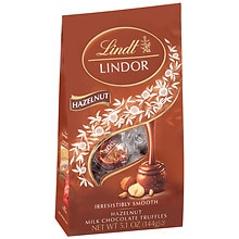 Lindt Lindor Milk Chocolate Truffles Hazelnut Milk Chocolate