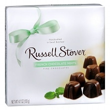 Russell Stover French Chocolate Mint Fine Chocolate Candies