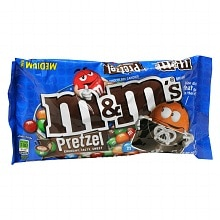 M&M's Chocolate Candies Pretzel