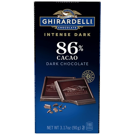 Ghirardelli Intense Dark Chocolate Bar 86% Cacao