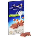 Lindt Classic Recipe Milk Chocolate Bar Hazelnut