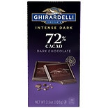 Ghirardelli Intense Dark Chocolate Bar 72% Cacao Twilight Delight