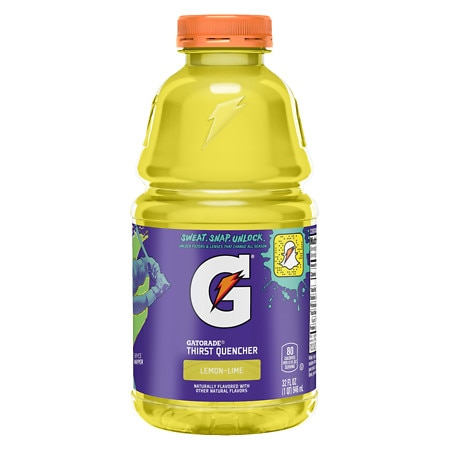 Gatorade Perform Thirst Quencher Beverage 32 oz Bottle Lemon Lime