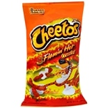 Cheetos Cheese Flavored Snacks Crunchy