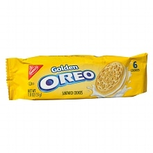 Nabisco Oreo Golden Sandwich Cookies 6 Pack