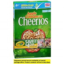 General Mills Apple Cinnamon Cheerios Whole Grain Oat & Corn Cereal