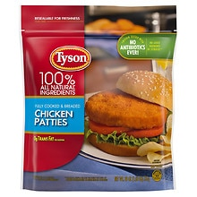 Tyson Chicken Breast Patties