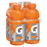 Gatorade Perform Thirst Quencher Beverage 4 Pack Orange