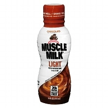 Muscle Milk Light Chocolate Protein Nutritional Shake Chocolate