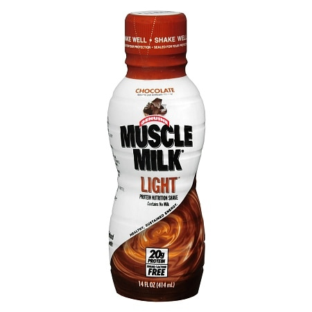 CytoSport Muscle Milk Light Protein Nutritional Shake Chocolate