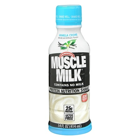 CytoSport Muscle Milk Protein Nutrition Shake 14 oz Bottle Vanilla