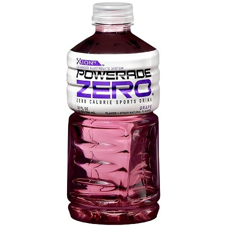 PowerAde Zero Sports Drink Grape
