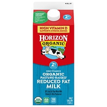 Horizon Organic Organic Reduced Fat Milk
