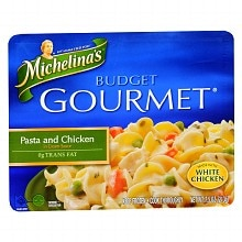 Michelina's Budget Gourmet Pasta and Chicken Frozen Entree