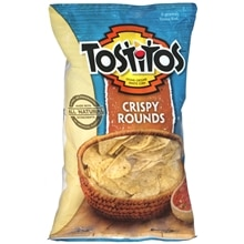 Tostitos  Stone-Ground White Corn Tortilla Chips