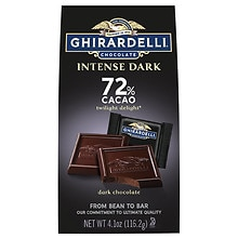 Ghirardelli Intense Dark Chocolate Squares 72% Cacao