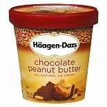 Haagen-Dazs Ice Cream Chocolate Peanut Butter