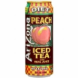 Arizona Diet Iced Tea with Real Juice Peach