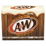 A&W Root Beer Soda 12 Pack Cans 12 Pack 12 oz Cans