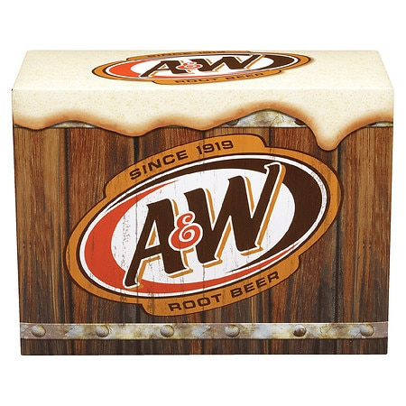 A&W Root Beer Soda 12 oz. Cans