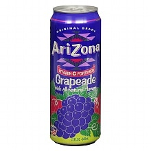 Arizona Grapeade Drink