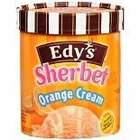 Edy's Sherbet Orange