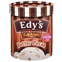Edy's Grand Ice Cream Butter Pecan