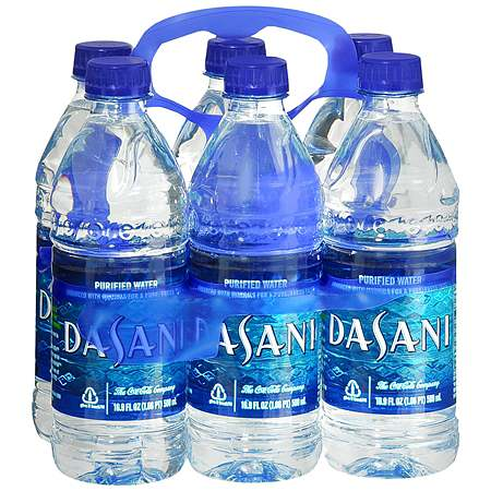 Dasani Purified Water 6 Pack