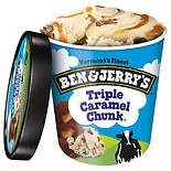 Ben & Jerry's Triple Caramel Chunk Ice Cream