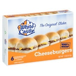 White Castle Microwaveable Cheeseburgers 6 Pack