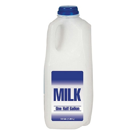 Milk Reduced Fat 2% 1/2 Gallon