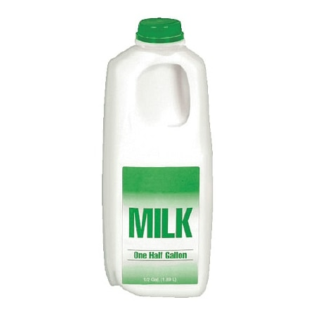 Milk Low Fat 1% 1/2 Gallon