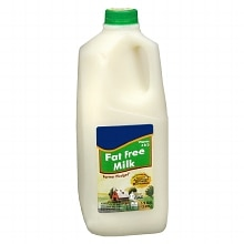 Milk Fat Free Skim 1/2 Gallon