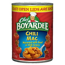 Chef Boyardee Chili Mac Canned Pasta