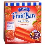 Edy's Fruit Bars 6 Pack
