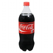 Coca-Cola Coke Soda 1 Liter Bottle