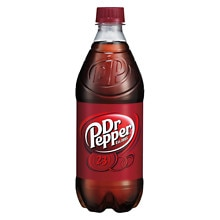Dr. Pepper Soda 20 oz Bottle