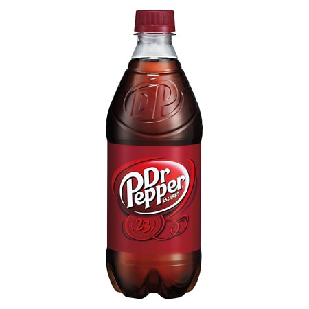 Dr. Pepper Soda 20 oz. Bottle