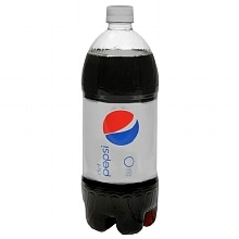 Diet Pepsi Soda 1 Liter Bottle